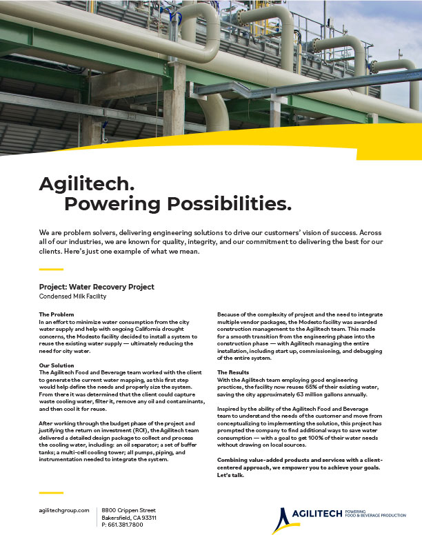 Agilitech Facility Design & Construction PDF download