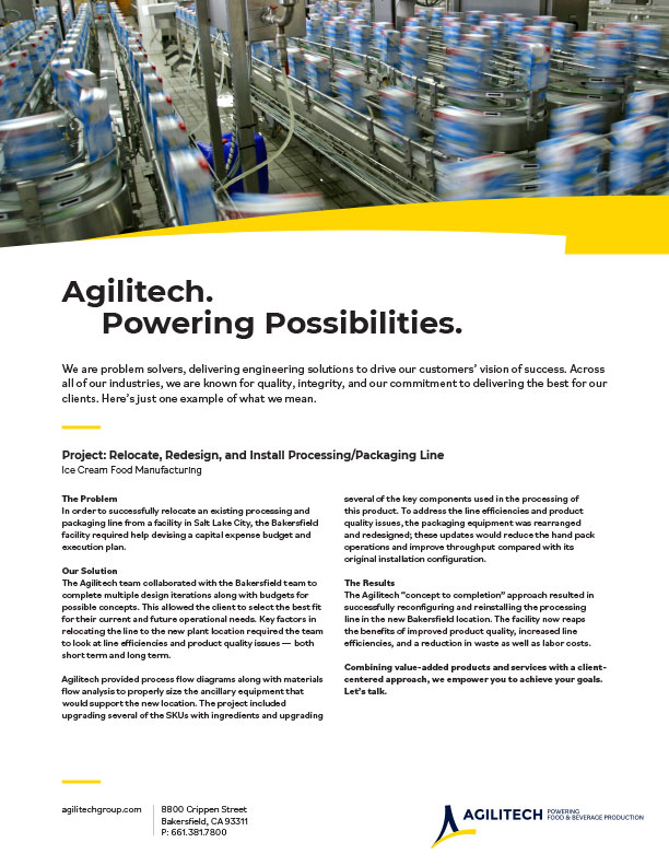 Agilitech Services for the energy industry PDF Download