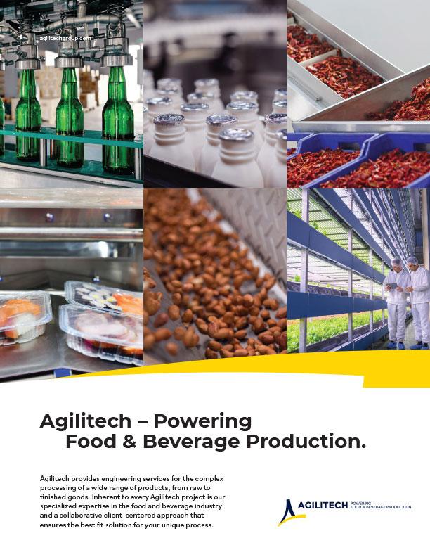 Agilitech Food & Beverage Services Overview PDF Download